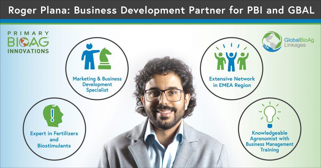 Roger Plana: Business Development Partner for PBI and GBAL